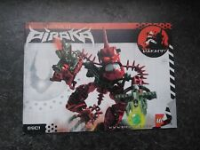 Lego Instructions 8901 Bionicle: Hakann (MANUAL ONLY)