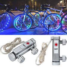 20 LED Bicycle Cycling Lights Mountain Bike Light Spoke Wheel Flash Tyre Lamp UK