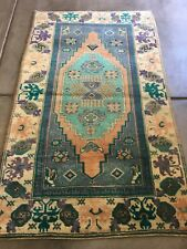 Anatolian Turkish Rug, High Pile , Excellent Condition 3'11X6'6