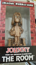 JOHNNY ROOM GOLD TALKING BOBBLEHEAD SIGNED AUTO TOMMY WISEAU DIASTER ARTIST