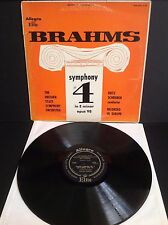 Brahms - Sympony #4 in E minor opus 98 - The Dresden State Symphony Orchestra LP