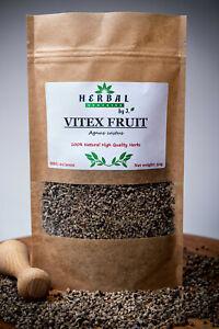Whole Vitex Fruit (Agnus Castus) Chaste Tree Berry Chasteberry Niepokalanek