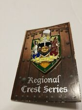Hard Rock Cafe Cape Town  Regional Crest Series Pin