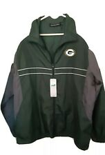 New listing Jacket L NFL Apparel Green  Bay Packers Dunbrooke