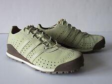 Adidas Daroga Khaki Brown Leather Light Hiking Trail Shoes  Women's US 6.5M