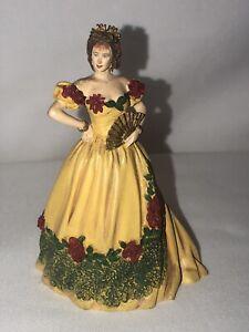 Vintage Franklin Mint Gone With The Wind Figurine 1990 Belle Watling