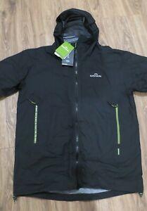Kathmandu Flinders Men's Rain Jacket Black XL