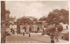 POSTCARD   DERBYSHIRE   BUXTON    St  Ann's  well and the pump  room