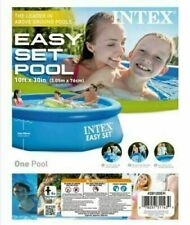 New Intex 10 x 30 Inflatable Pool Easy Set Above Ground No Pump *Free Ship 10x30