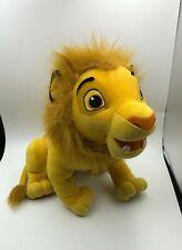 The Lion King Simba 2003 Hasbro Disney Plush Kids Soft Stuffed Toy Animal Doll