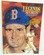 Legends Sports Memorabilia Magazine Ted Williams H#118 60th Ann.Bat Avg Sealed
