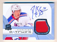 2011-12 The Cup Derek Stepan Signature Patches Patch Auto (59/75)