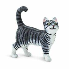 Cat Figurine Toy - Gray Tabby