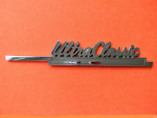 "Harley Davidson UltraClassic emblem  heavy old almost 9"" long  shiny  25 yr nos"
