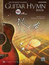 NEW The Worship Leaders Guitar Hymn Book (Book & CD) by Vincent J. Carrola