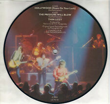 THIN LIZZY  Hollywood / The Pressure Will Blow  rare PICTURE DISC 45