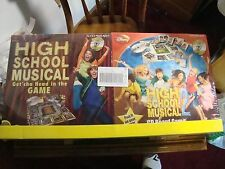 High School Musical 1 + 2 CD Board Games Walt Disney For Ages 7+ Mint Condition