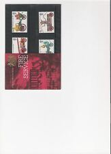 1974 ROYAL MAIL PRESENTATION PACK THE FIRE SERVICE MINT DECIMAL STAMPS