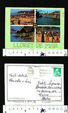 LLORET DE MAR (CATALOGNA) - SPAGNA - QUATTRO VEDUTE DELLA LOCALITA' - 50473