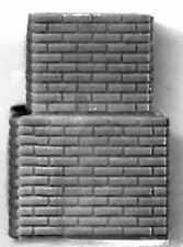 BRICK CHIMNEY HO Model Railroad Structure Plastic Detail Part GL5297