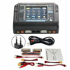 RC Car Balance Lipo Battery Charger Discharger HTRC T240 DUO AC 150W/DC 240W