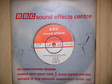 "BBC Sound Effects 7"" Record - Setright Push Button Ticket Machine"