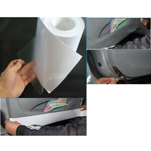 "3M×15cm 6""x120"" Car Protective Film Vinyl Bra Door Edge Paint Protection Clear"