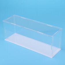 "11x3x4"" Transparent Acrylic Display Case Dustproof Assembled Model Show Box"