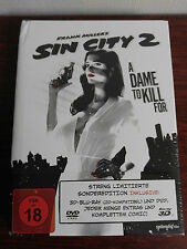 Sin City 2 A Dame To Kill For 3D Bluray (+ DVD) Mediabook [Limited Edition]