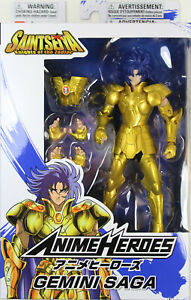 Anime Heroes ~ GEMINI SAGA Action Figure ~ Saint Seiya: Knights of the Zodiac