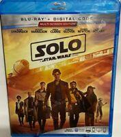 Solo: A Star Wars Story  Blu-ray + Digital, Alden Ehrenreigh, Wood Harrelson