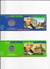 "5 Euro Silbergedenkmünzen "" Joseph Haydn 2009 ""in Miniblister 2 Stk."