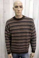 MARLBORO CLASSICS Uomo Taglia XL Maglione Lana Sweater Pullover Maglietta Maglia