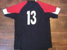 2012 2013 Wales Player Issue nº 13 Rugby Union Shirt adultes Medium Jersey