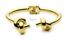 24k GOLD PLATED CHUNKY DOUBLE KNOT BRACELET - KNOTTED BANGLE WITH GIFTBOX
