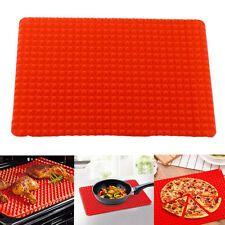 Pyramid Pan Silicone Kitchen Baking Mat For Healthy Cooking Non Stick Bake Hot #