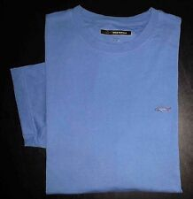 3229s Solid Blue XL GREG NORMAN Shark Logo S/S Base Layer Athletic Shirt!