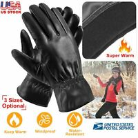 winter with thermal lining warm EEM Big Mens knitted gloves THOMAS