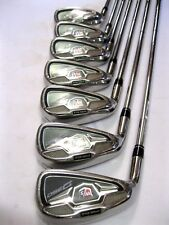 Left - Hand Wilson Staff D350 Irons (5-gw) Steel Uniflex MLH