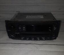 CHRYSLER Sebring JEEP Cherokee Wrangler DODGE Ram Caravan Radio CD Player RBK