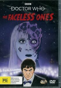 Doctor Who The Faceless Ones DVD NEW Region 4
