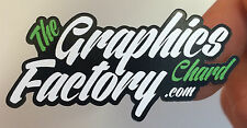 Custom Printed Vinyl Stickers Labels Decals Logo Sign Car Van Business Bike