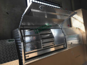 Aluminium Toolboxes Heavy Duty Full Door  Ute Truck  with 5 Drawers 170x60x82cm