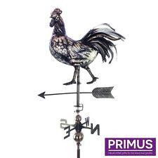 Primus 3D Gallo Acero Inoxidable jardín veleta con estaca Veleta