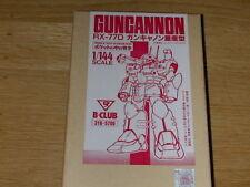 Guncannon RX-77D 1/144 scale resin kit (B-Club) Gundam 0080