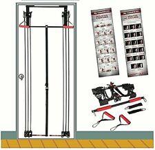Kit Tower 200 Full Body Exercise Gym Cavi Cinghie da Porta Allenamento Fitness