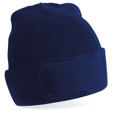 Personalised Embroidered Beanie Hat Pullover Custom Printed Wooley Hat Unisex PB