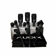 Audix D2 Trio 3-piece Drum Microphone Package Inc's Dvice Mounts and Carry Pouch