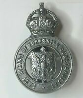 Royal Ulster Constabulary GC Oath Of Office With Cap Badge