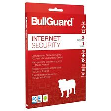 BullGuard Antivirenprogramm Internet Security 2018 DVD Box, 3 PCs/1Jahr